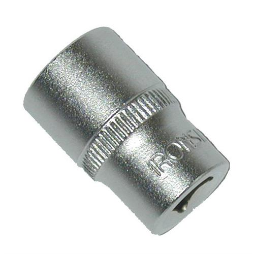 Acier chrome-vanadium finition : satinée douille à profil haute performance large surface de contact de la douille et de l'écrou couple de serrage maximum protection supérieure des angles de contact contre les déformations. dimensions : 13,0 mm