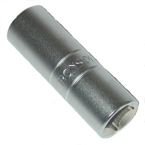 Chrome-vanadium finition satinée douille à profil haute performance large surface de contact de la douille et de l'écrou couple de serrage maximum protection supérieure des angles de contact contre les déformations dimension : 21 mm.