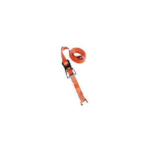 100% polyester orange en 2 parties,  cliquet 23 cm a double fermeturede securite,  crochets bord de rive